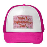 "Candy Shoppe ""Pepperminty Day"" Work Cap Mesh Hat"