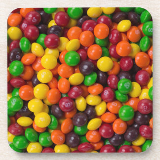 Candy skittles coaster