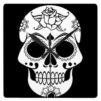 Candy Skull Clocks