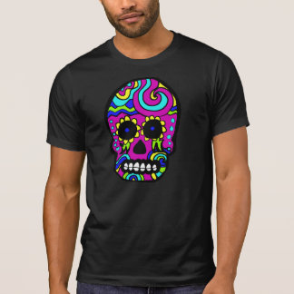 Candy Skull Destroyed Tshirt