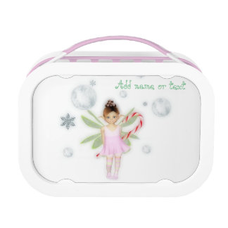 Candy snow fairy lunch box