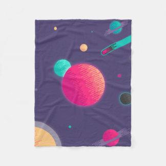 Candy Space Fleece Blanket