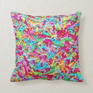 Candy Sprinkle Pattern Pillow