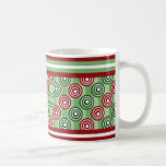 Candy Stripe and Pop Dots Holiday Mug