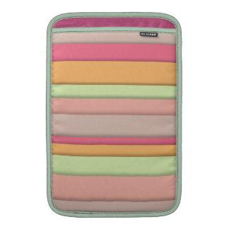 Candy Stripe Macbook Air Case Sleeve For MacBook Air