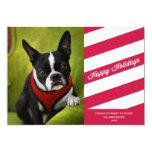CANDY STRIPES | HOLIDAY PHOTO CARD CUSTOM INVITES