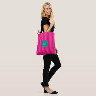 Candy Stripes in Cerice Pink > Trendy Totes