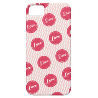 Candy Stripes Love Dots Pattern Valentine's Day iPhone 5 Cases