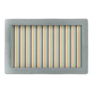 Candy Stripes Pattern Belt Buckle