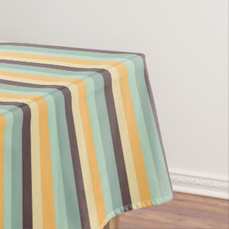 Candy Stripes Pattern Tablecloth