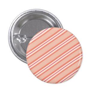 Candy Stripes: Peaches 'n Cream 3 Cm Round Badge