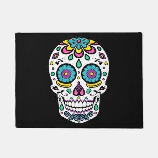 Candy Sugar Skull Doormat