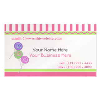 Candy Sweet/ Pink Pack Of Standard Business Cards