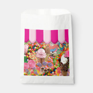 Candy Sweet Sixteen Ice Cream Cute Favour Bags