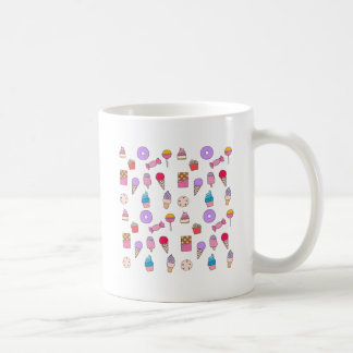 Candy, sweets and cake coffee mug