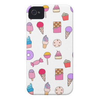 Candy, sweets and cake iPhone 4 Case-Mate cases