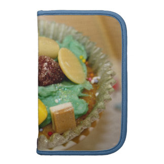 Candy/Sweets on a Cupcake Folio Smartphone Organizer