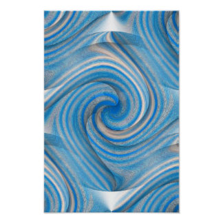 Candy Swirl Poster