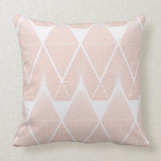 Candy threads pink cushion