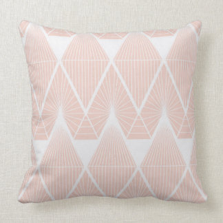 Candy threads pink throw pillow