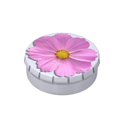 Candy Tin - Medium Pink Cosmos
