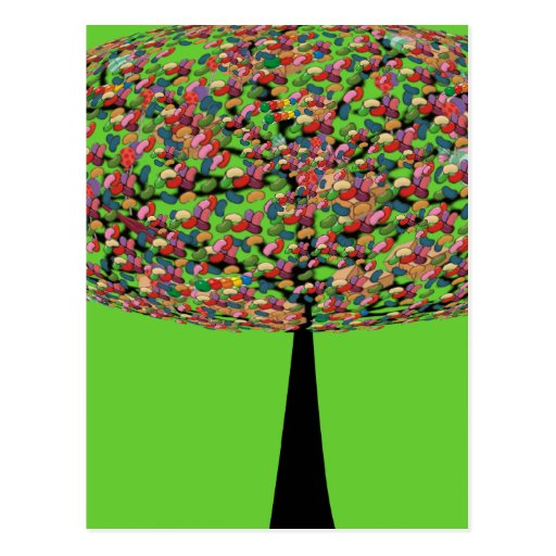 Candy Tree Post Card