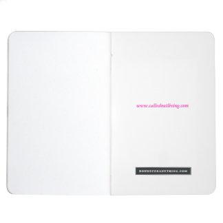 Candy Tropical Aqua customisable notebook