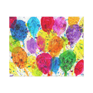 Candy Waters Autism Artist Canvas Print