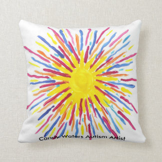Candy Waters Autism Artist Cushion