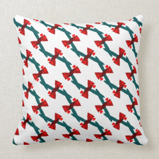 Candy-Wrapper Design on Throw Pillow