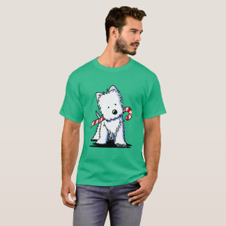 Candycane Cutie Westie T-Shirt