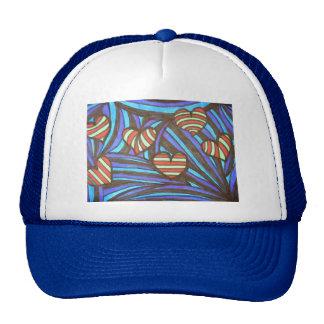 CandyCane Hearts Hats