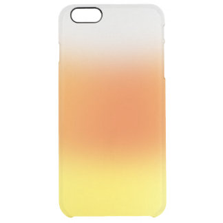 Candycorn ombre clear iPhone 6 plus case
