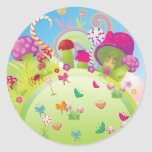 Candyland 1 (Template) Stickers