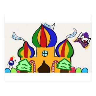 Candyland India Postcard