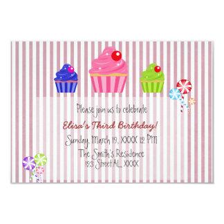 Candyland Invitation