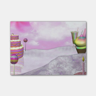 Candyland Post-it Notes