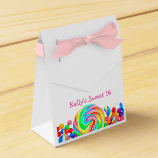 Candyland Sweet 16 Favor Candy Box Party Favour Boxes