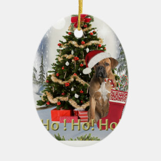Cane Corso Christmas Ornament