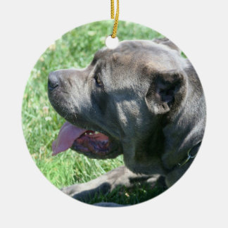 Cane corso dog ornament