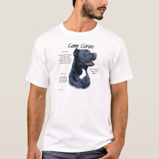 Cane Corso History Design T-Shirt