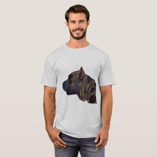 Cane Corso Original painting mens shirt