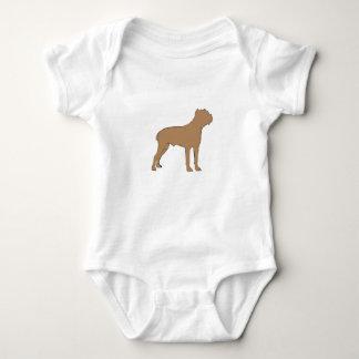 cane corso silo color baby bodysuit