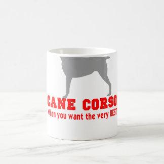 CANE CORSO THE VERY BEST COFFEE MUG
