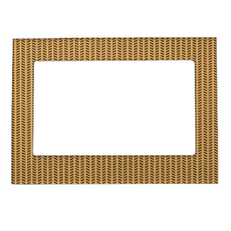 Cane wicker parquet magnetic frame