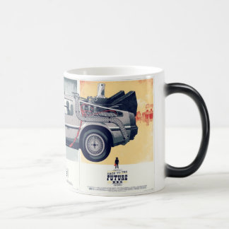 caneca de volta para o futuro magic mug