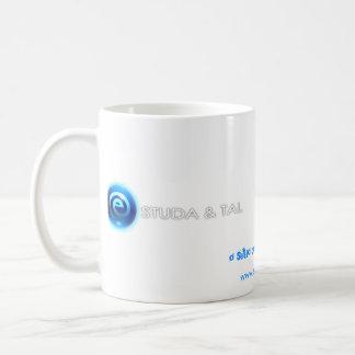 Caneca ESTUDA&TAL - branca Classic White Coffee Mug