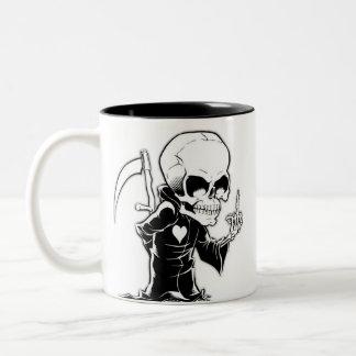 Caneca Morte Two-Tone Coffee Mug