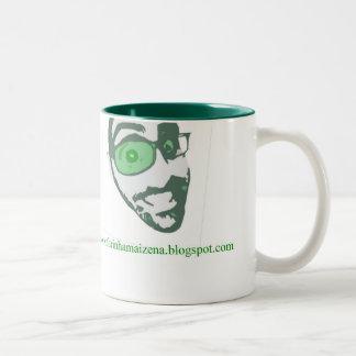 Caneco farinhamaizena.blogspot Two-Tone coffee mug