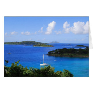 Caneel Bay, St. John, U.S. Virgin Islands Card
